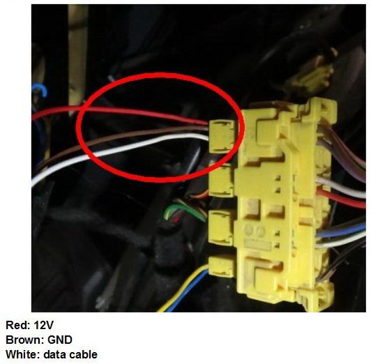 подключение эмулятора датчика